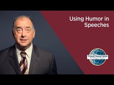 Using Humor in Speeches