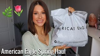 AMERICAN EAGLE SPRING TRY ON HAUL | 2020