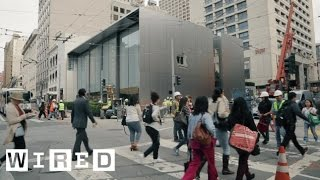 Apple's Newly Redesigned Store Has Huge Doors, a Genius Grove, and Creative Pros