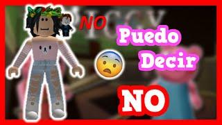 *RETO* No Puedo Decir LA Palabra NO En PIGGY    ROBLOX    Valen Latina