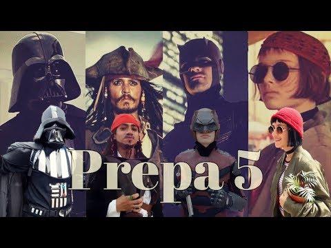 CINE Y SERIES en PREPA5 (Disfraces 2017)