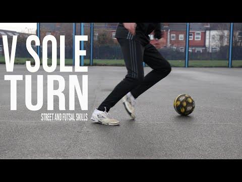 V Sole Turn | Street and Futsal Skills