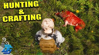 CRAFTING BIG BACKPACK, HUNTING! - Scum Survival - Part 8 (Scum Gameplay) (Multiplayer)