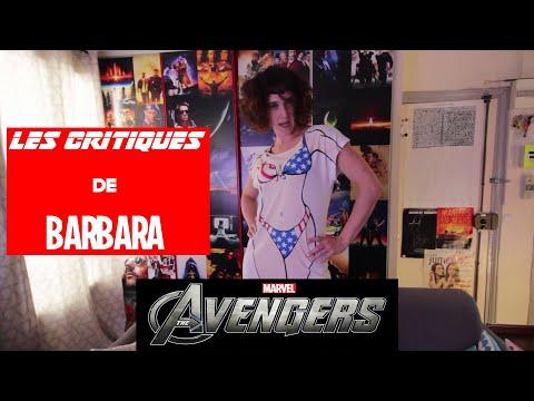 LES CRITIQUES DE BARBARA - MARVEL - AVENGERS