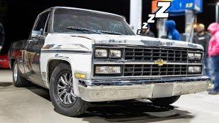Sleeper truck races EVERYONE on the highway!