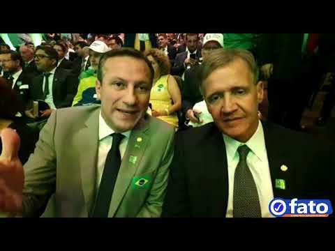 Dep Fed Sanderson e Aluísio Mendes