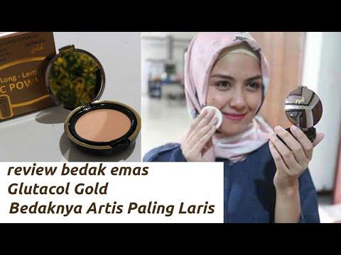 Glutacol Long Lasting Powder Gold ( Bedak Emas )
