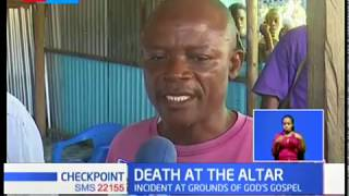 Pastor stabs wife to death before killing self at a church altar in Bamburi, Mombasa