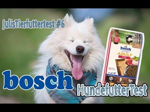BOSCH Hundefutter im Test | Trockenfutter für Hunde | Review | JulisTierfuttertest #6