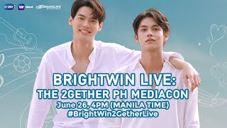 Friday na pala? That means it's time for #BrightWin2GetherLive! Makinood na at sabay-sabay tayong makipagkulitankay Bright at Win!  Subscribe to the ABS-CBN Entertainment channel! http://bit.ly/ABS-CBNEntertainment  Visit our official website!  http://entertainment.abs-cbn.com http://www.push.com.ph  Facebook:http://www.facebook.com/ABSCBNnetwork Twitter:https://twitter.com/ABSCBN Instagram:http://instagram.com/abscbn  #BrightWin2GetherLive #BrightWin #Mediacon