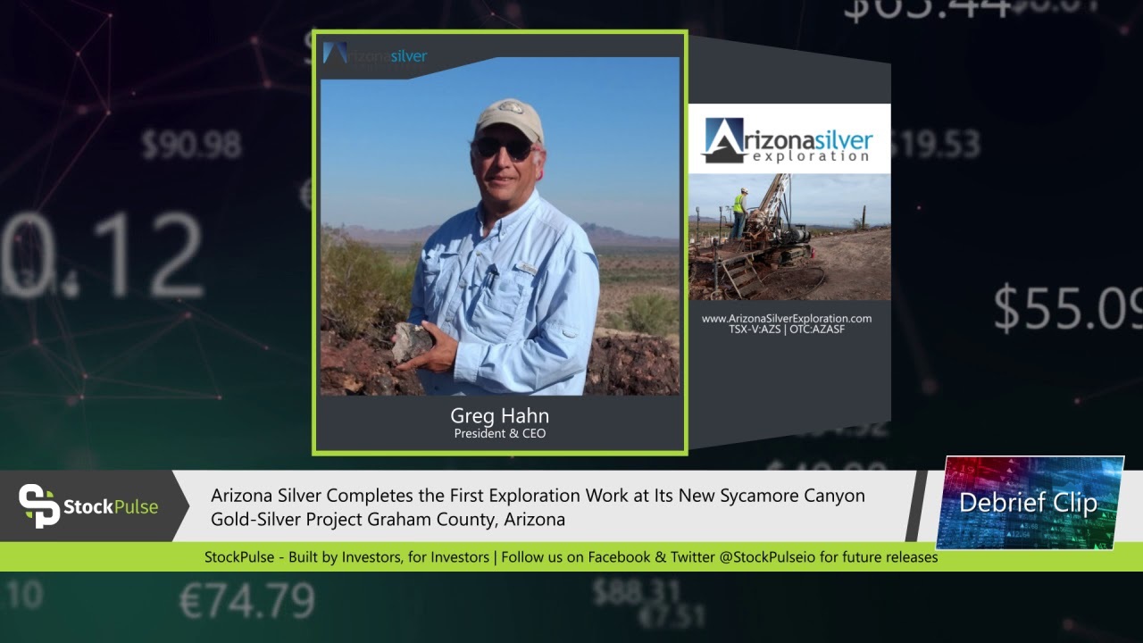 Arizona Silver Completes the First Exploration Work at Its New Sycamore Canyon Gold-Silver Project