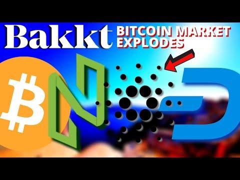 Bakkt Bitcoin MARKET EXPLODES | Cardano Shelley Staking | NULS | Dash | HUAWEI, FBI | Bitcoin News