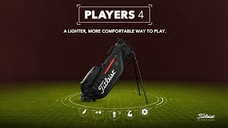 Players 4 Stand Bag-video