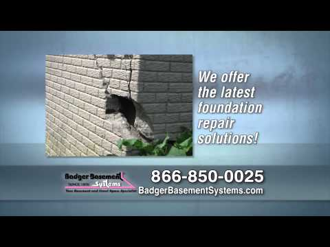 https://www.badgerbasementsystems.com | 1-888-490-6459Since 1975, Badger Basement Systems has been helping homeowners recognize the signs and permanently fix foundation problems.  Common signs include doors and windows becoming hard to open and basement walls and floors cracking.  When it comes to fixing foundations, no one does it better than Badger Basement Systems. Call or Contact today for a FREE estimate!