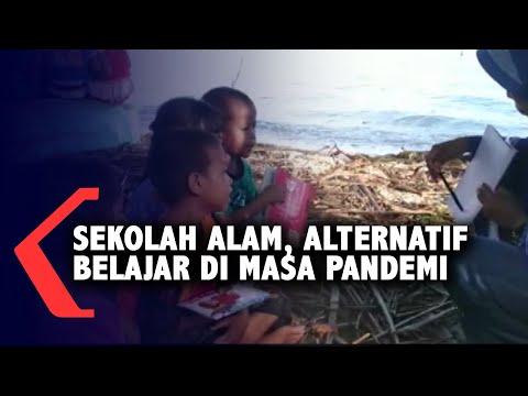 sekolah alam di kayong utara bantu anak belajar di masa pandemi