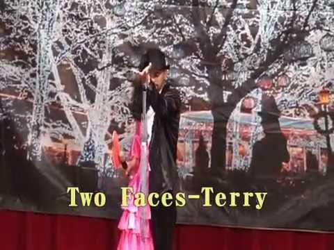 Two Faces Terry 紐約聖誕童話秀