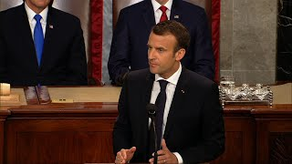 Macron Urges US to Reject Isolationism