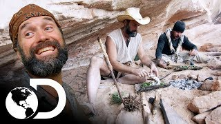 Gastronomía De Supervivencia | Desafío X 2 | Discovery Latinoamérica