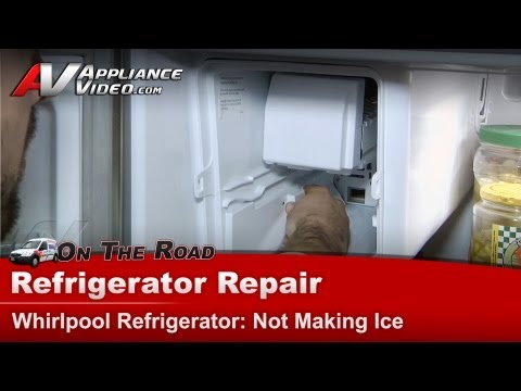 Refrigerator Repair & Diagnostic - Not making ice - Whirlpool,Maytag, Sears
