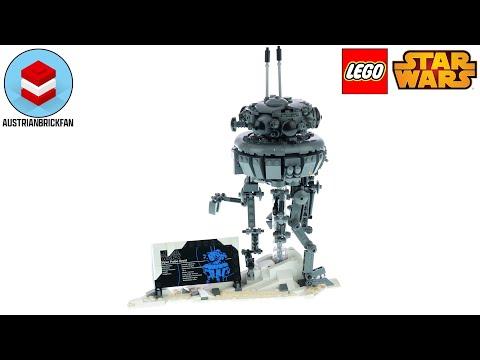 Vidéo LEGO Star Wars 75306 : Droïde sonde impérial