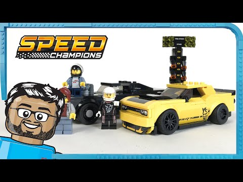 Challenger Srt 75893 2018 Champions Pas Demon Lego Speed CherDodge RL45Aj3