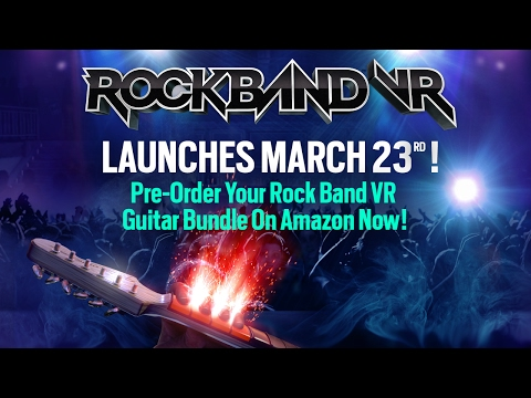 Rock Band VR Coming To Oculus Rift March 23rd! thumbnail