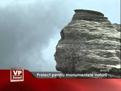 Proiect pentru monumentele naturii