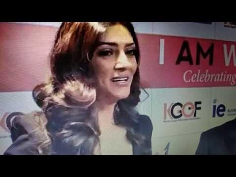 """I AM WOMAN "" SUSHMITA SEN WOMAN AWARDS 2018 l BY VANU SHARMA"