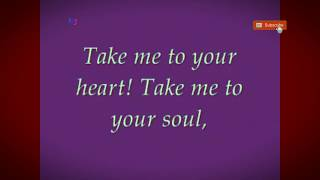 ( TAKE ME TO YOUR HEART ) - By Michael Learns - With Lyric's