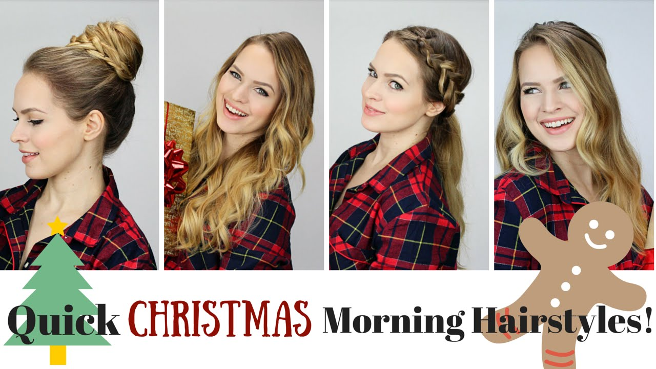 Quick and Easy Morning Hairstyles!