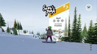 Steep INVADERS Snowpark Halfpipe (500+ Points)