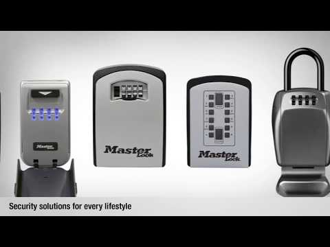 Screen capture of Master Lock Select Access® 5426EURD / 5428EURD