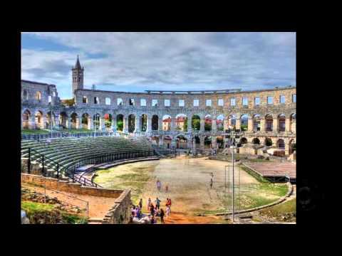 Древнеримский амфитеатр в Пуле