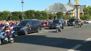Parisians Pay Tribute To Troops Killed In Burkina Faso Raid