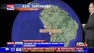 BMKG Tsunami Akibat Gempa Cile Merambat Hingga Indonesia