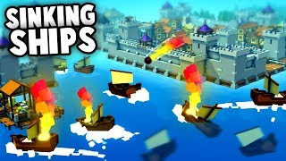 SINKING the Navy Ship! (Kingdoms and Castles New Update Gameplay