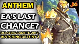 ANTHEM UPDATE! | 2019 DELAY AND BIOWARE FOCUSING SOLELY ON ANTHEM, LAST CHANCE FOR THE STUDIO AND EA