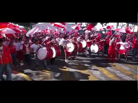 """LBR Caravana 95 Aniversario Club Deportivo Toluca"" Barra: La Perra Brava • Club: Toluca"