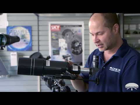 Overview of the Orion Observer 80ST 80mm Equatorial Refractor Telescope – Orion Telescopes