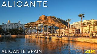 Tiny Tour | Alicante Spain | A Short Walk In The Sunset Before The Lockdown 2020