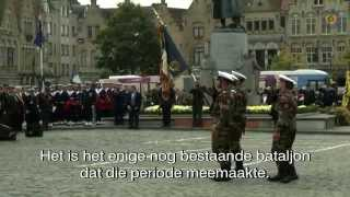 preview picture of video 'Fransen en Belgen herdenken slag om Diksmuide'