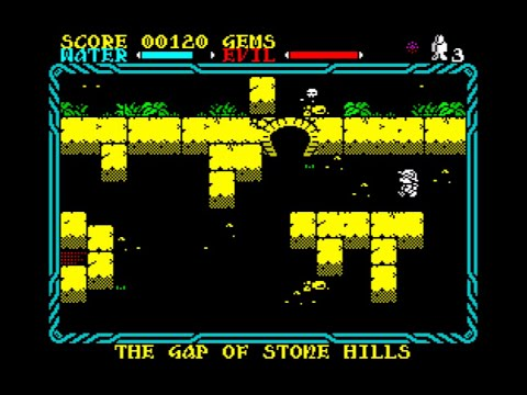 Mire Mare Walkthrough, ZX Spectrum