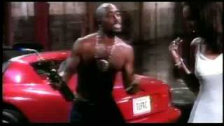 Tupac shakur & Lisa raye - Toss it up Music video.
