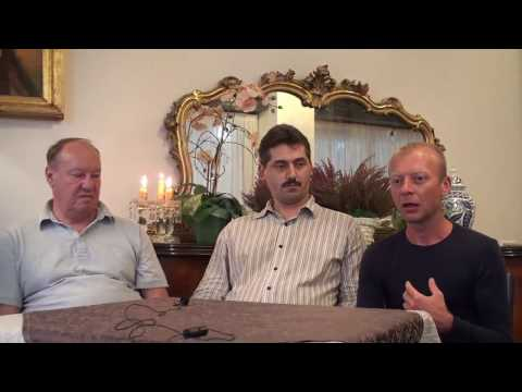 Интервью Мартины Кафол с Аркадием Петровым, Романом Гирейло, Александром Зайцем (Милан)