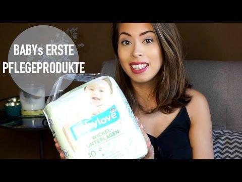 Pflegeprodukte für Baby & Mama - erster großer Drogerie Einkauf   Eileena Ley