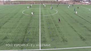 Pôle Espoirs 6-2 J. Villenave