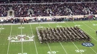 The Best Fightin' Texas Aggie Band Halftime Drill Ever! (4 WAY CROSS) A&M vs. South Carolina 2019