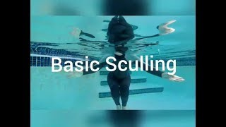 How To Do Basic Sculling for Treading Water [From Synchro Swimmer] Swimming Lessons For Adults