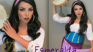 Disney's Esmeralda Make-up Look !!!