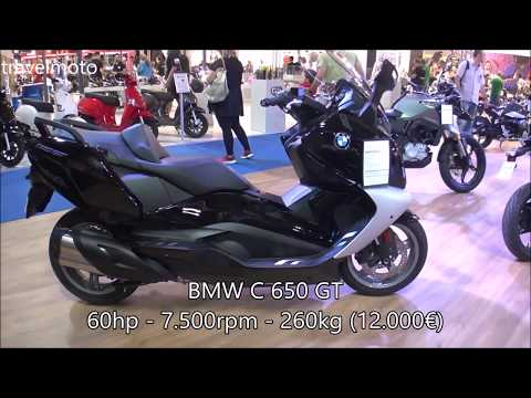 The 2018 BMW C650GT Scooter